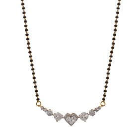 Pretty Hearts Diamond Mangalsutra