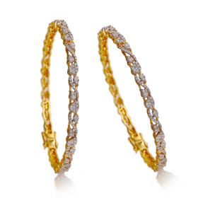 Sinful Diamond Bangles