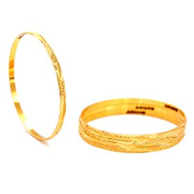 Golden Youth Gold Bangles