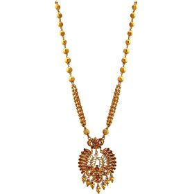 Exquisite Lakshmi Gold Necklace