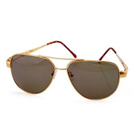 Unisex Gold Sunglasses