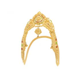 22KT Plain Gold Fancy Vanki 22VG403