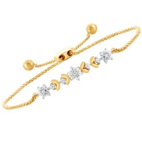 Floral Dream Diamond Bracelet