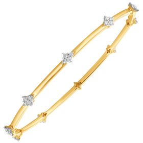 Sparkling Stars Diamond Bangle