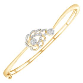 Sunshine Diamond Kiss Bangles