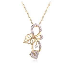 Infinity Bliss Diamond Pendant