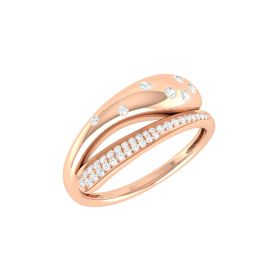 LoveClasp Diamond Ring