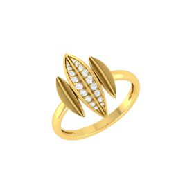 Striking Trinity Diamond Ring