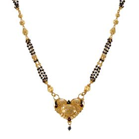 22K Traditional Gold Mangalsutra  SJ1005