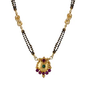 22K Traditional Gold Mangalsutra  SJ1034