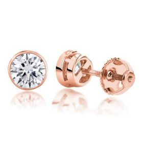 Laterna Solitaire Studs Earrings