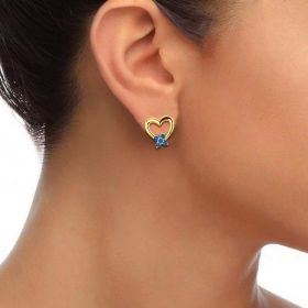 Knotted Love Studs