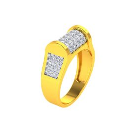 22K Men CZ Ring VGR676