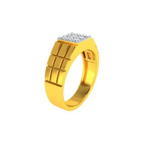22K Men CZ Ring VGR680