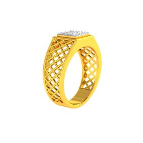 22K Men CZ Ring VGR682
