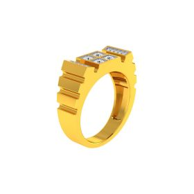 22K Men CZ Ring VGR690