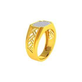 22K Men CZ Ring VGR692