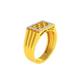 22K Men CZ Ring VGR708