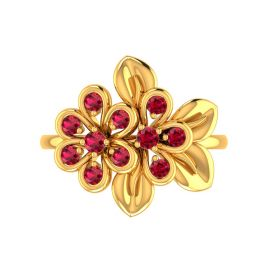 Floral Bunch Ring