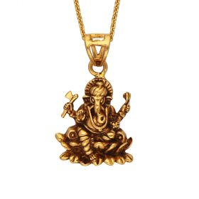 127VG3817 | Antique Lord Ganesh Gold Pendant 127VG3817
