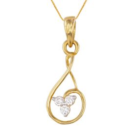 Magically Musical Clef Diamond Pendant