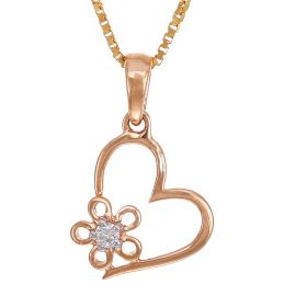 Versatile Heart And Diamond Flower