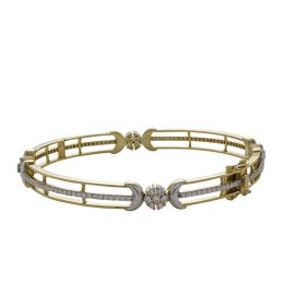 Trendy Nakshatra Diamond Bangle