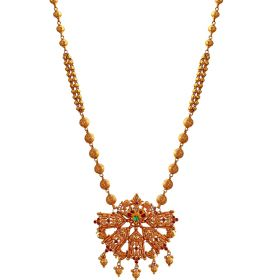 Dazzling Rose Gold Necklace