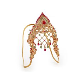 Elaborate Ruby and Emerald vanki