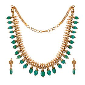 Traditional Emerald Necklace