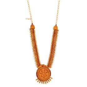 vbj-a-60b | Antique Sturdy Gold Necklace With Extensions
