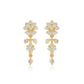 JEF26591F | Sunflower Delight Diamond Dangle