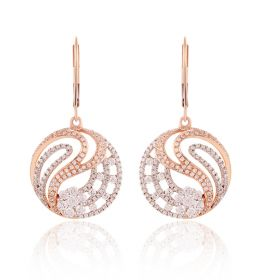 Bella Swan Diamond Hoops Earring