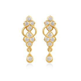 JES17640H | Wonderous Diamond Dangles