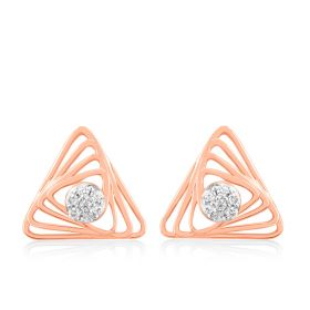 Glitzy Diamond Studs