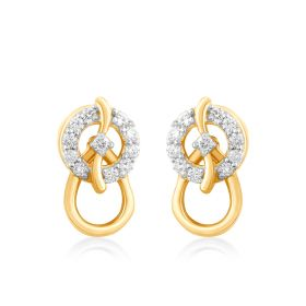 Clutching Trinket Diamond Studs