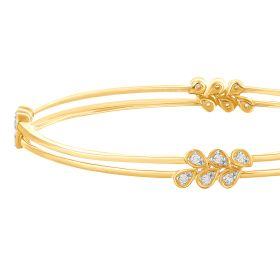 Delicate Drops Diamond Bangle