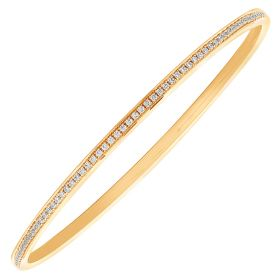 Intricate Sequence Diamond Bangle