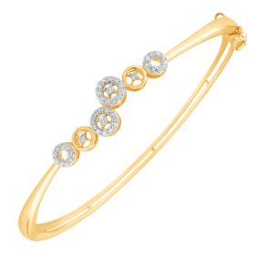 Enchanted Circles Diamond Bangles