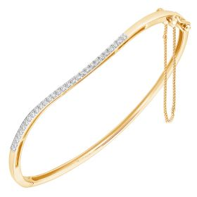 Modern Muse Diamond Bangles