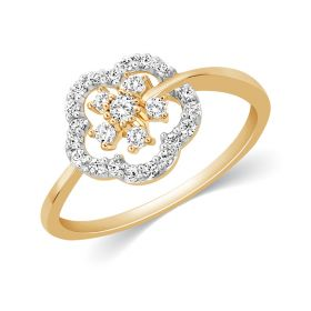 JRA56060Q | Floral Scents Diamond Ring