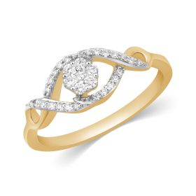 JRA99580F | Infinity Sparkle Diamond Ring