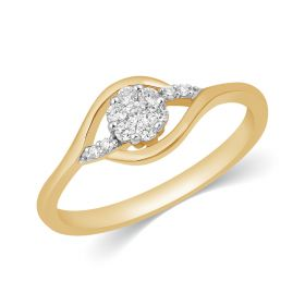 JRA99590B | Luminous Spirit Diamond Ring