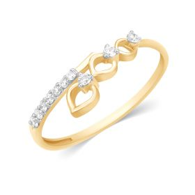JRF15570A | Heart Symphony Diamond Ring