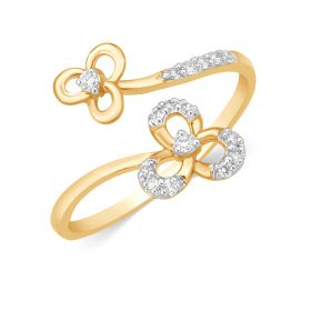 JRF15670B | Garden Oasis Diamond Ring