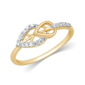 JRF17620B | Leafy Love Diamond Ring