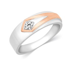 JRM61720B | Fusion Solitaire Diamond Band