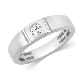 JRM64720F | Ethereal Sheen Diamond Band