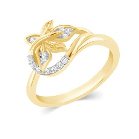 JRN13230A | Foliole Synergy Diamond Ring