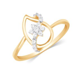 JRN13890A | Graceful Floral Diamond Swell